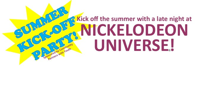 CPY Summer KIck-Off Party at Nickelodeon universe